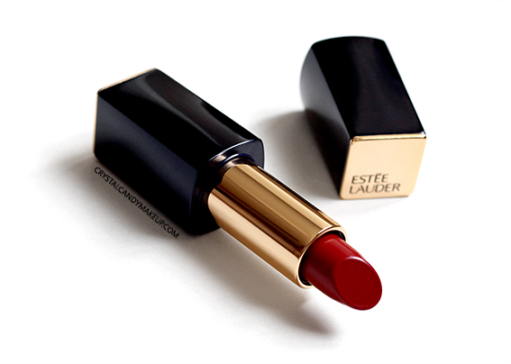 Estée Lauder Pure Color Envy Matte Sculpting Lipstick Decisive Poppy Review