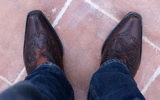 I really like my cowboy boots