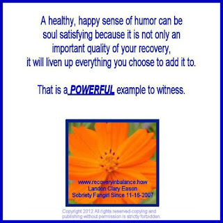 Recovery Joy and Laughter Inspiration