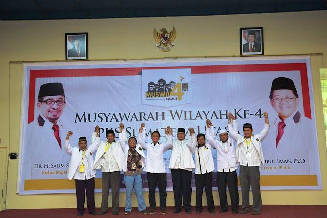 Muhammad Hafez Kembali Pimpin PKS Sumut Priode 2015-2020