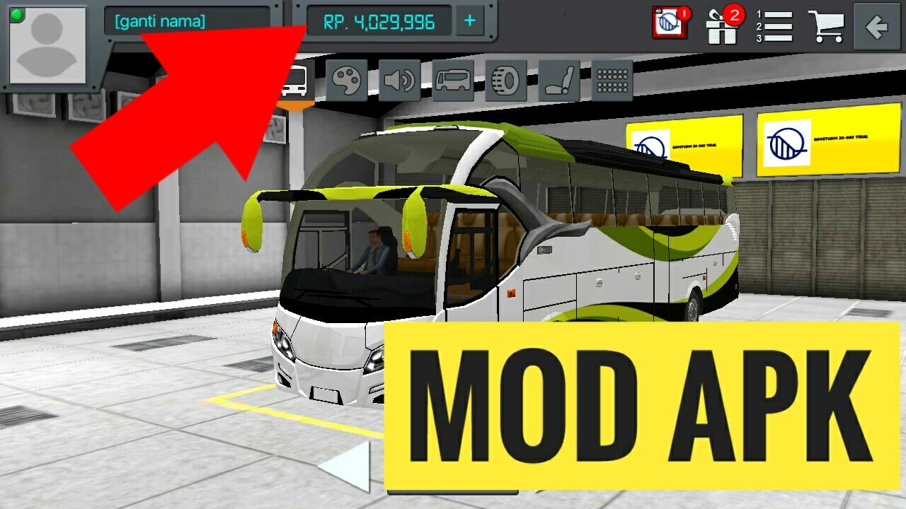 Bus simulator Indonesia mod apk all new version 3 0