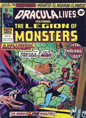 Marvel UK, Dracula Lives #87