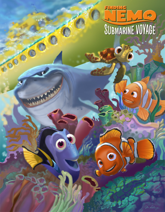 insights and sounds alternative attraction poster for finding nemo submarine voyage. Black Bedroom Furniture Sets. Home Design Ideas