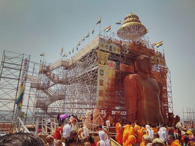 Mahamastakabhisheka - Anointment Of Bahubali Gommateshwara Statue