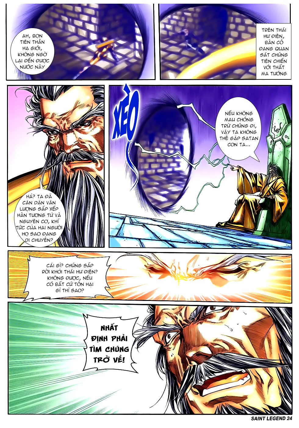Bát Tiên Đạo chap 84 - Trang 22