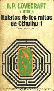 edicion de Bruguera dedicada a recopilar buena parte de la obra de HP Lovecraft