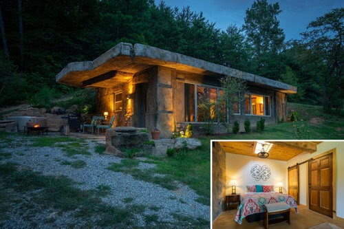 00-airbnb-The-Bedrock-Cave-Cottage-Architecture-www-designstack-co