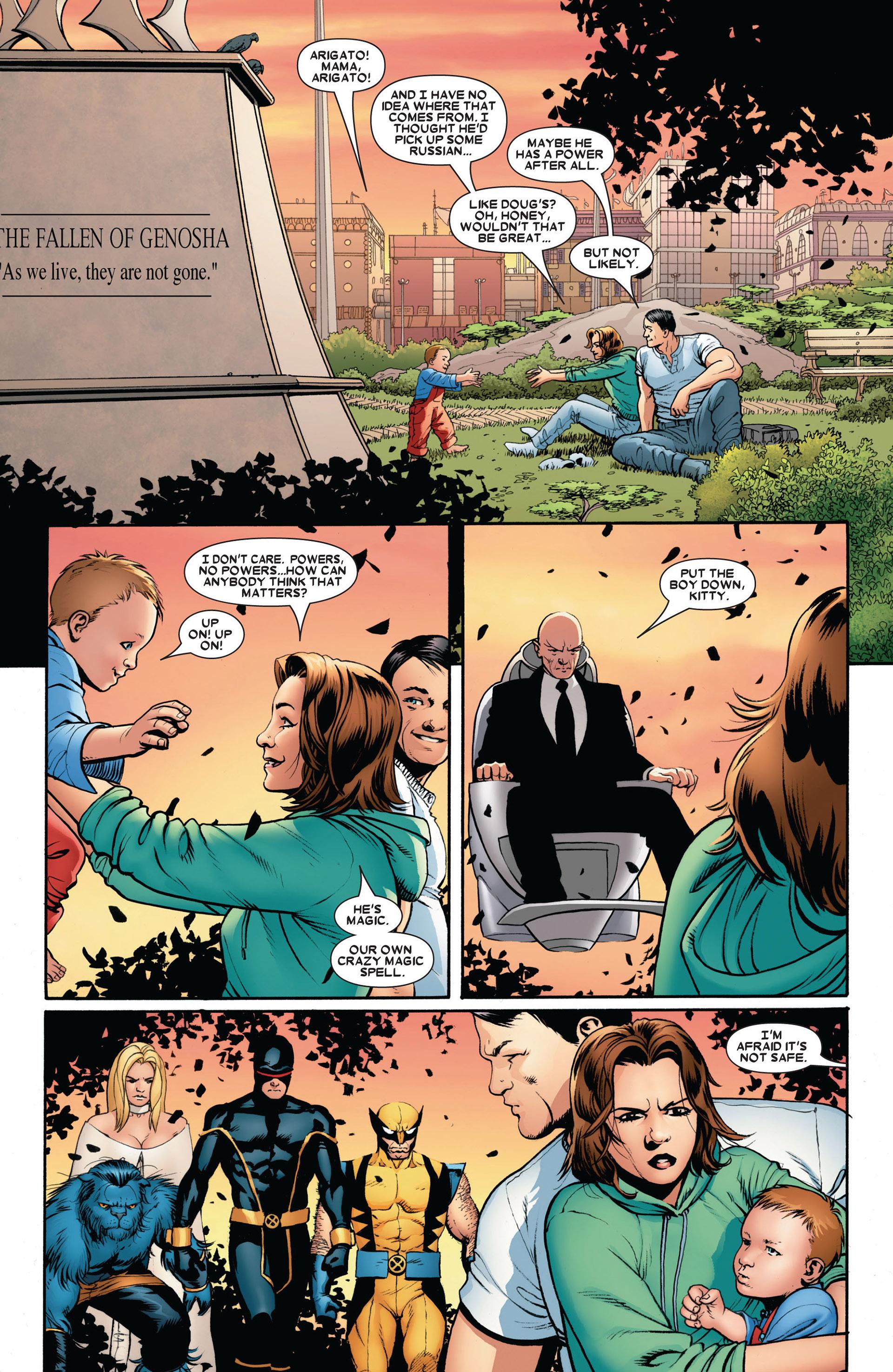 Read online Astonishing X-Men (2004) comic -  Issue #17 - 4