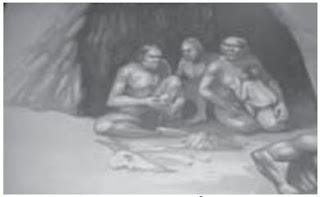 Manusia purba yang hidup di gua-gua terbuka
