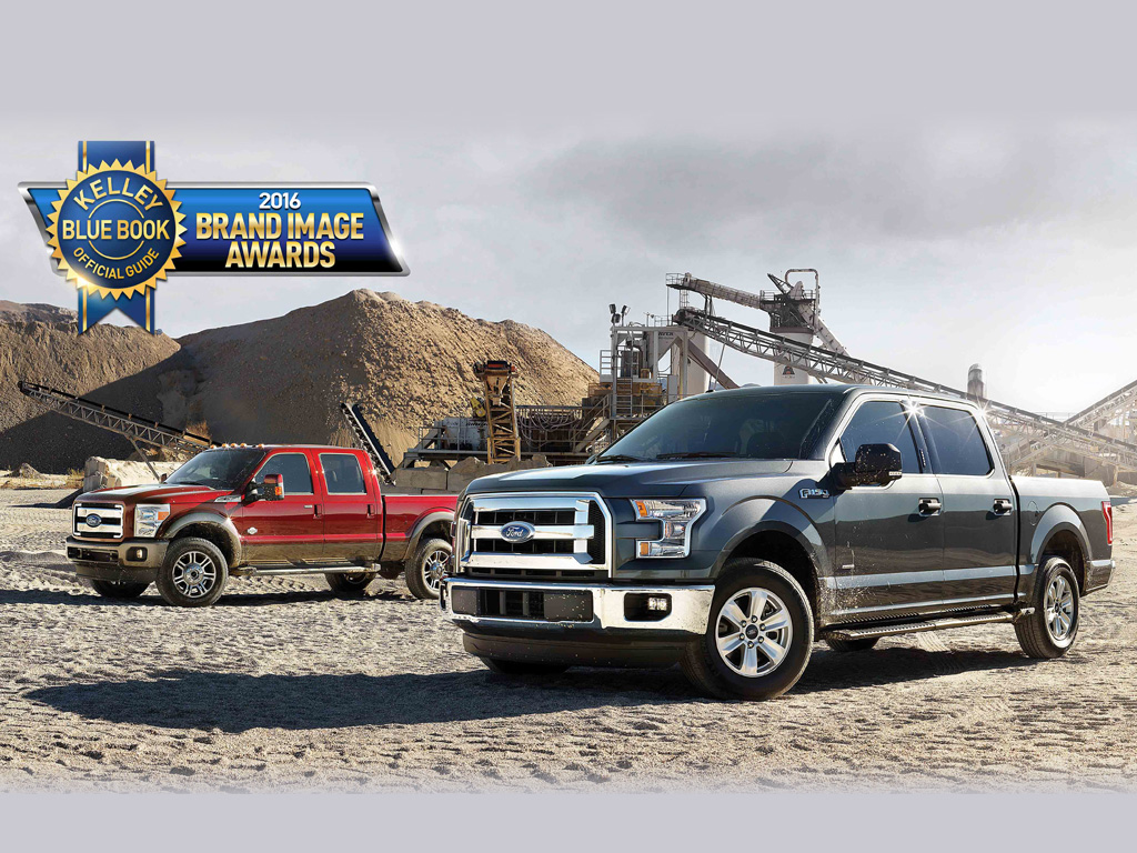 Ford named best overall truck brand for third consecutive year by kelley blue book
