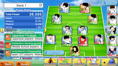 Captain Tsubasa: Dream Team English