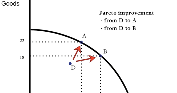 Your portal to the world: Pareto efficiency vs. Pareto