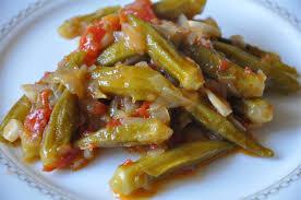 Okra with Olive Oil (Zeytinyagli Bamya)