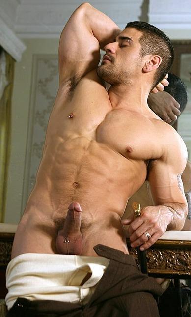 Ass naked muscle latin men