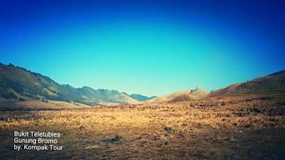 Bukit Savana Teletubies Gunung Bromo Murah