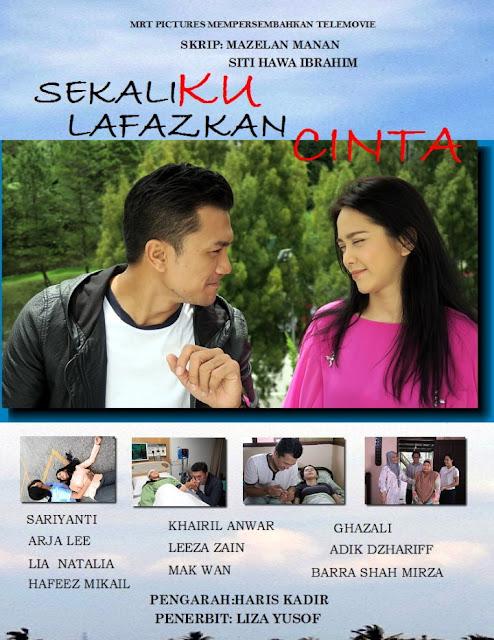 Telemovie Sekali Ku Lafazkan Cinta ,Lakonan Arja Lee, Sari Yanti