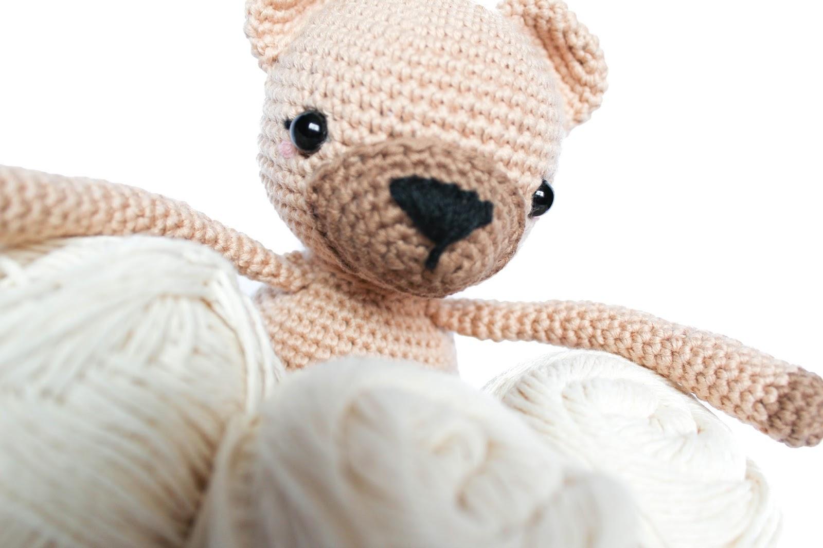 Bol lanero de Noe Marín estudio y patrón de Little Bear Crochet\'s ...