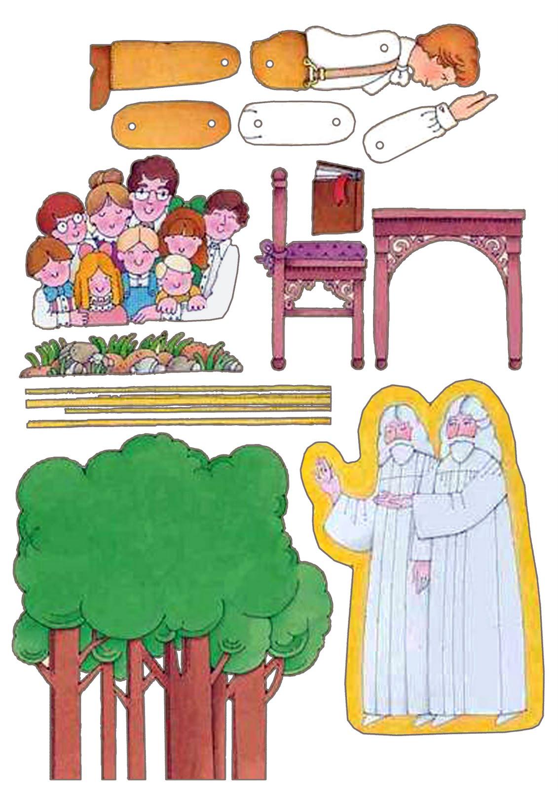primera vision - La Iglesia de Jesucristo ha sido restaurada