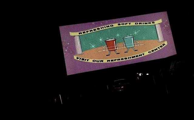 Drive-in double feature at the Aut-O-Rama