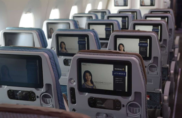 singapore airlines a350-900 entertainment system