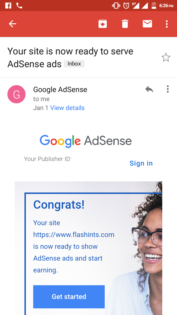 Adsense Approval trick for 2019