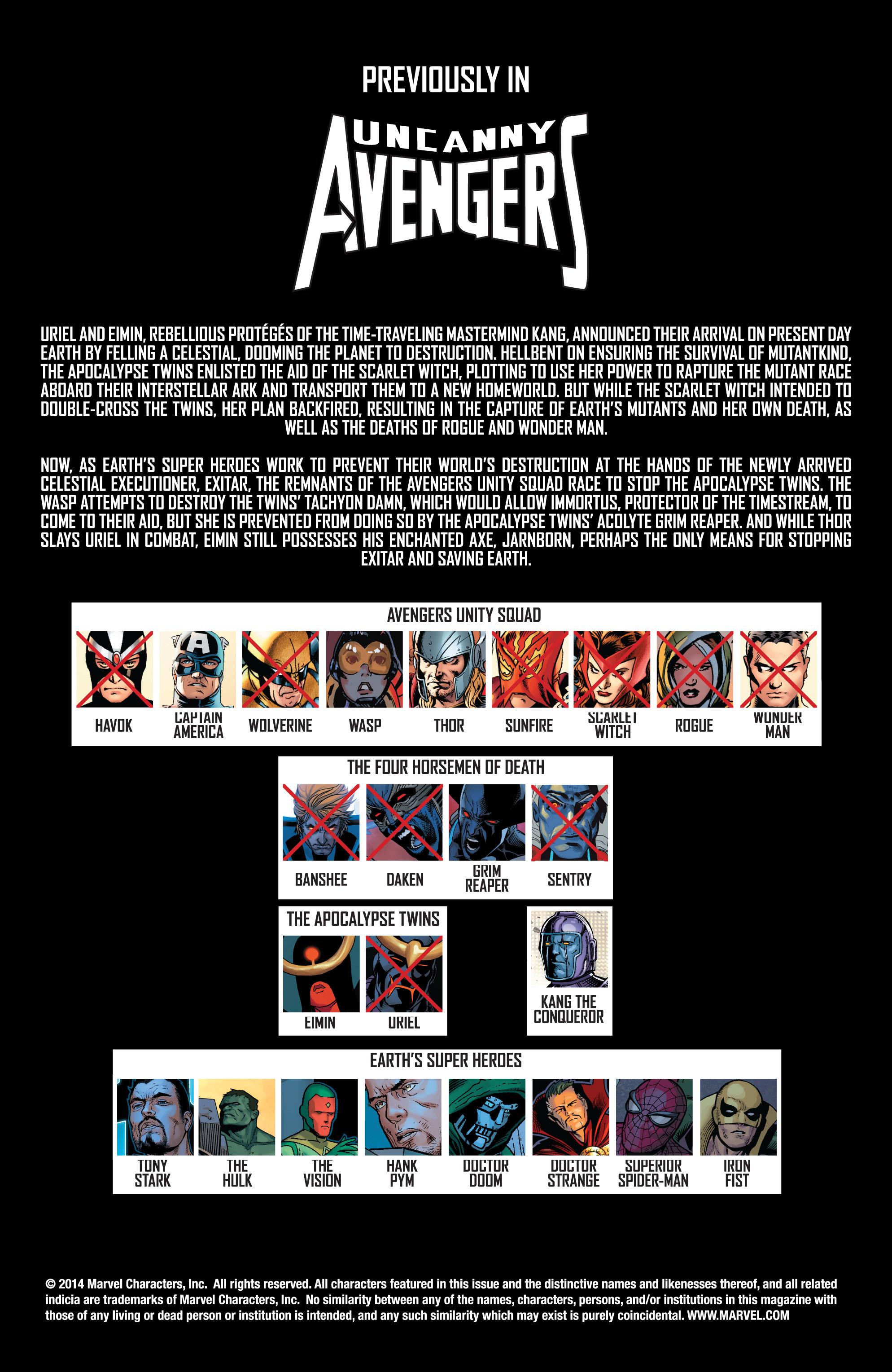 Read online Uncanny Avengers (2012) comic -  Issue #17 - 2