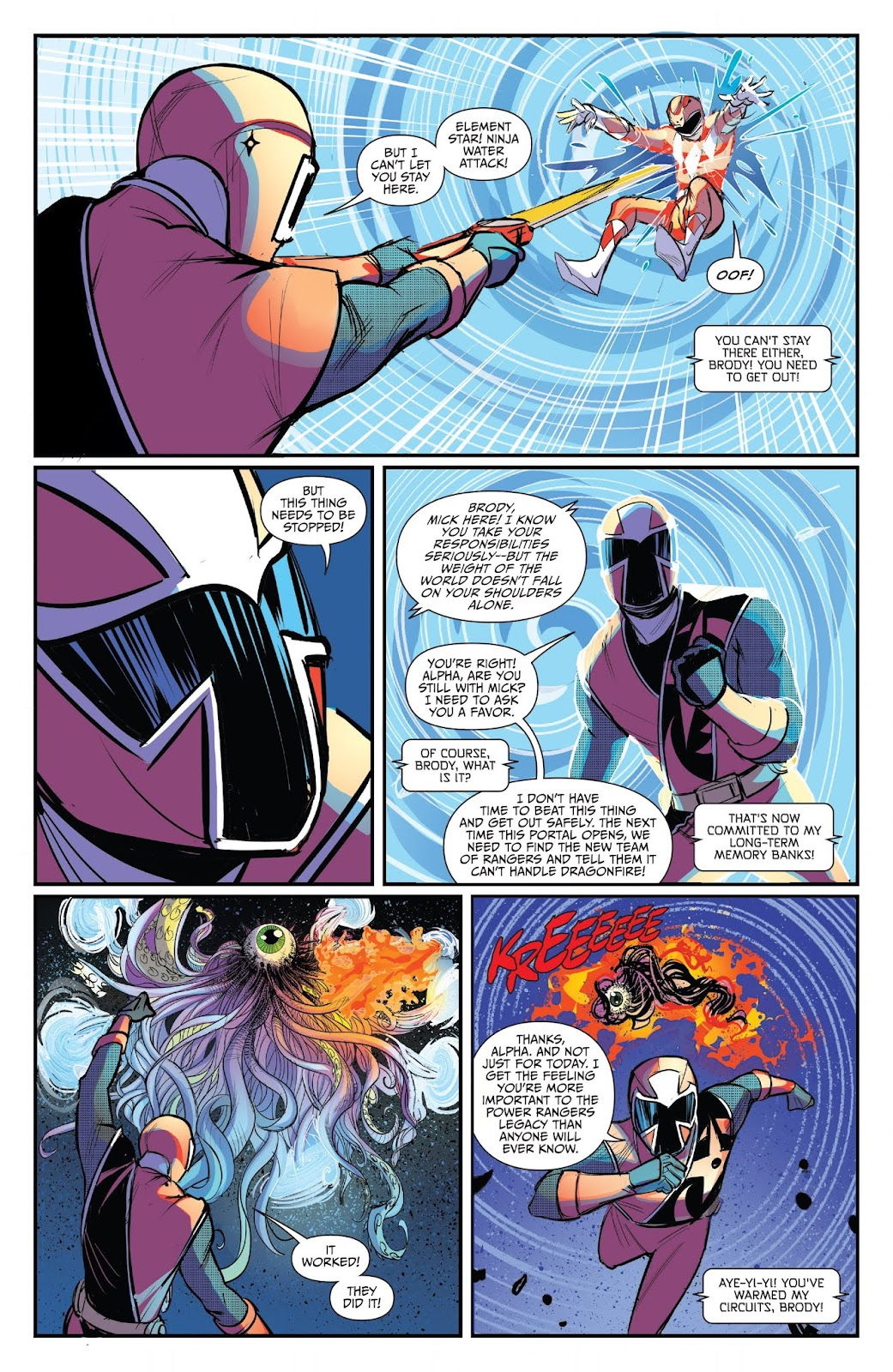 Read online Mighty Morphin Power Rangers 25th Anniversary Special comic -  Issue # Full - 27