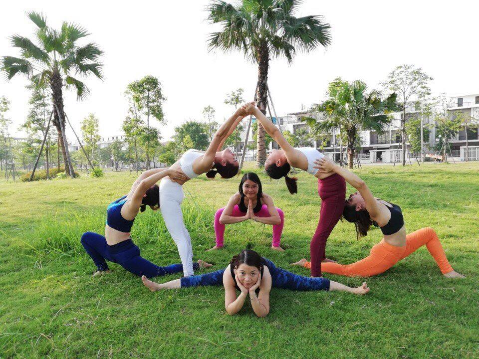 yoga tại  dự án Nam 32
