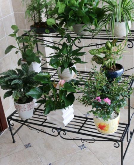 82 Gambar Desain Rak Pot Bunga Dari Besi Paling Bagus