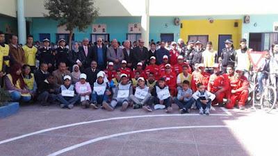 أنشطة بمناسبة اليوم الوطني للسلامة الطرقية بأكاديمية مراكش آسفي