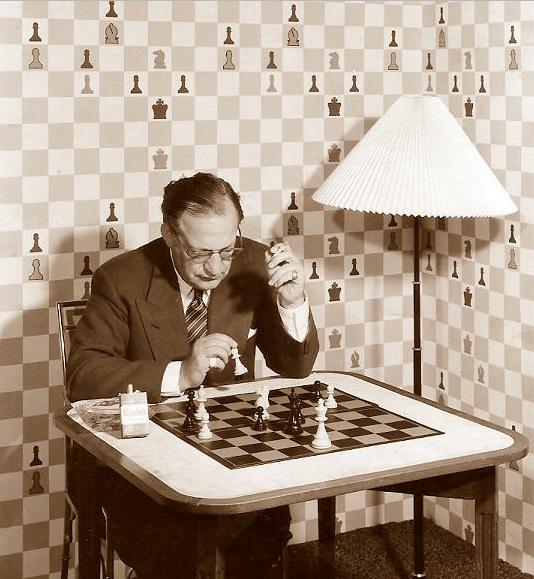 El ajedrecista Georges Koltanowski