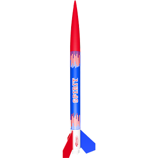 Estes Almost Ready to Fly Spirit Model Rocket Kit, Model Rocket Store