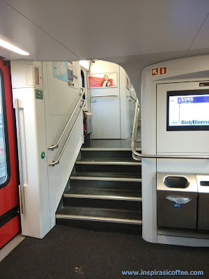 Interior kereta Swiss
