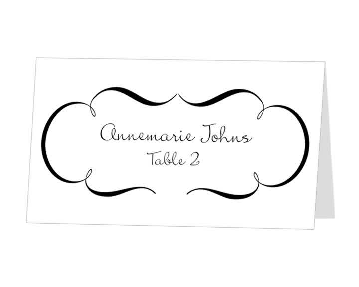 Inspiration For Style Wedding Favor Tag Template