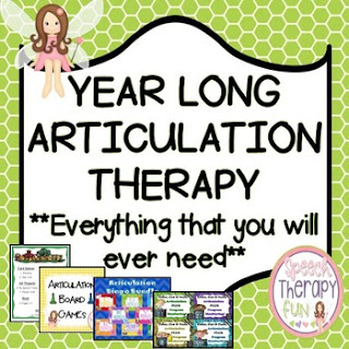 Speech Therapy Fun: Year Long Artic Bundle Giveaway