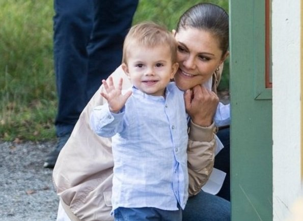 Crown Princess Victoria, Princess Estelle and Prince Oscar attended Prince Daniel's Race and Sports Day at Haga Park