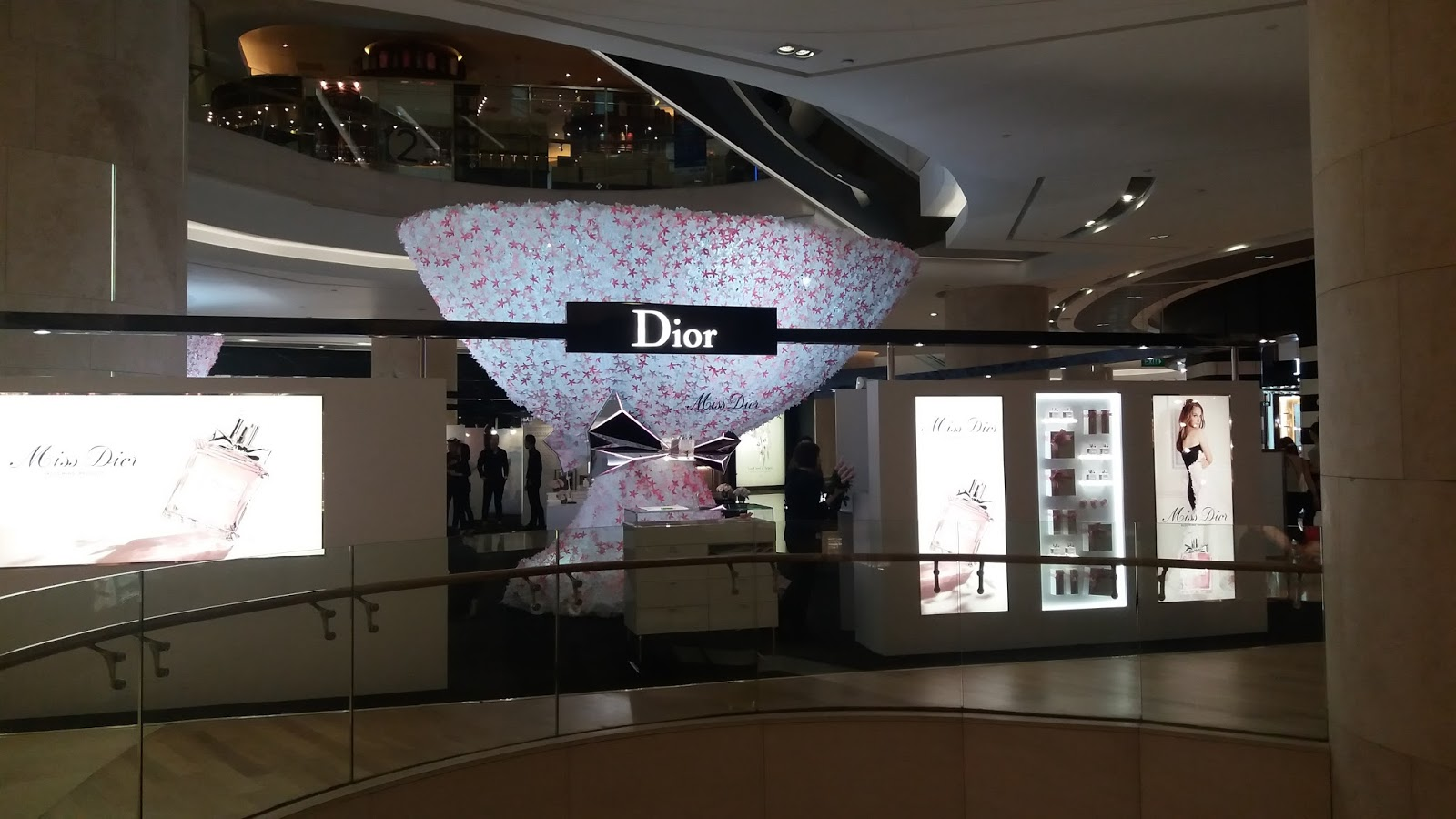 Miss Dior Savoir-Faire Exhibit, ION Orchard Singapore