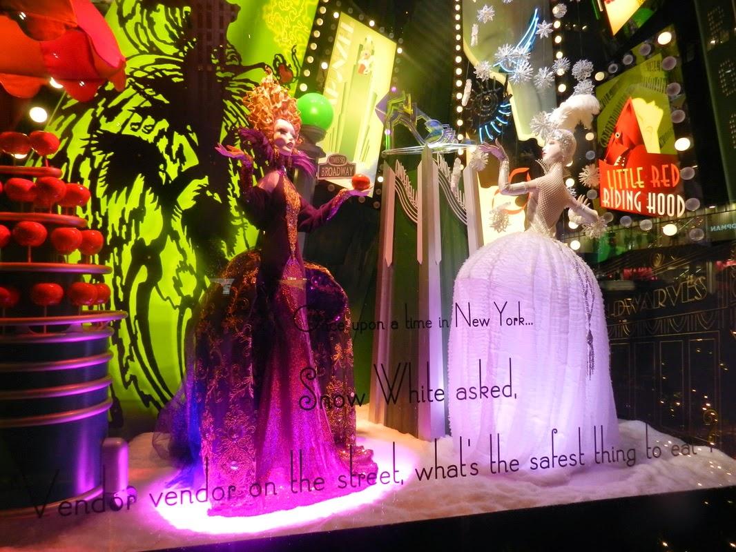 saks fifth avenue christmas window nyc display