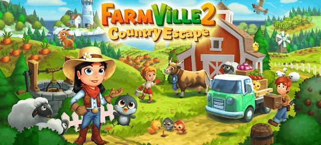 تحميل لعبة فارم فيلي FarmVille 2 مهكرة لأجهزة الاندرويد برابط واحد