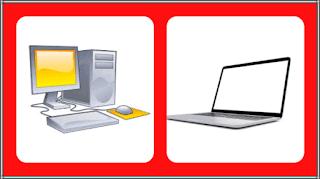Perbedaan Komputer dan Laptop