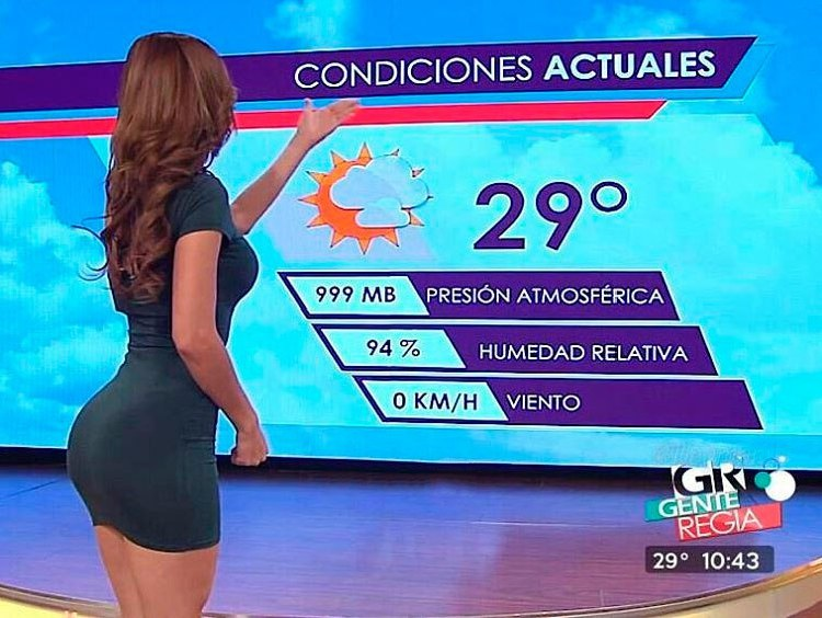 the Mexican TV presenter Emma Garcia