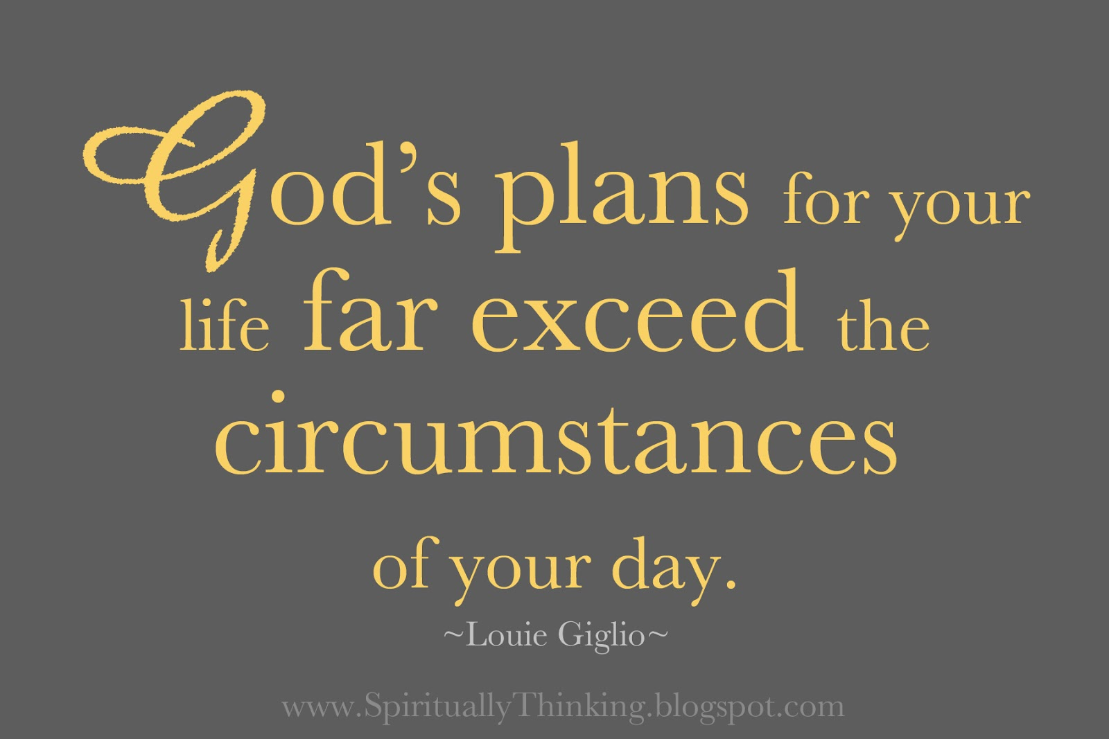God Has A Plan For Your Life Quotes. QuotesGram
