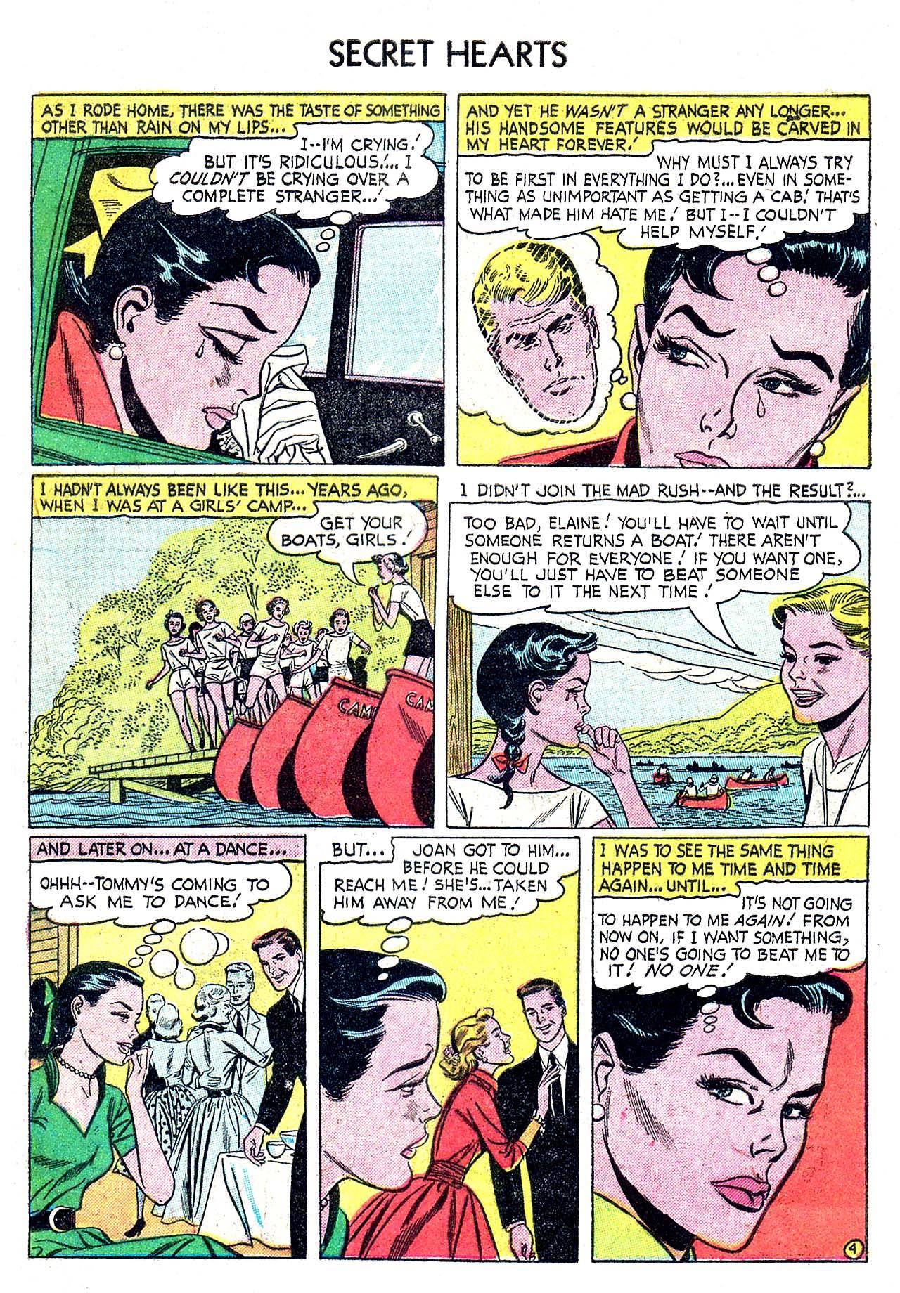 Read online Secret Hearts comic -  Issue #32 - 29