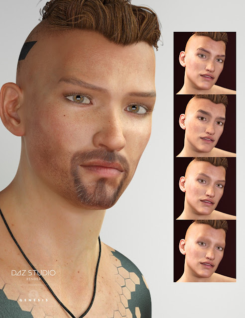 Nikolas for Genesis 3 Male