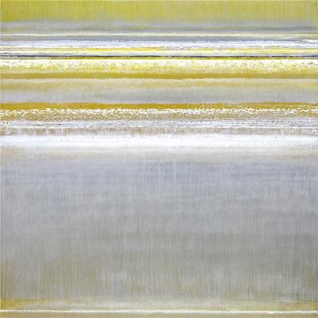 "Bruno Kurz, ""Light Embers-Yellow"" | obras de arte abstracto contemporaneo, pinturas abstractas, imagenes | art selecta pictures inspiration"