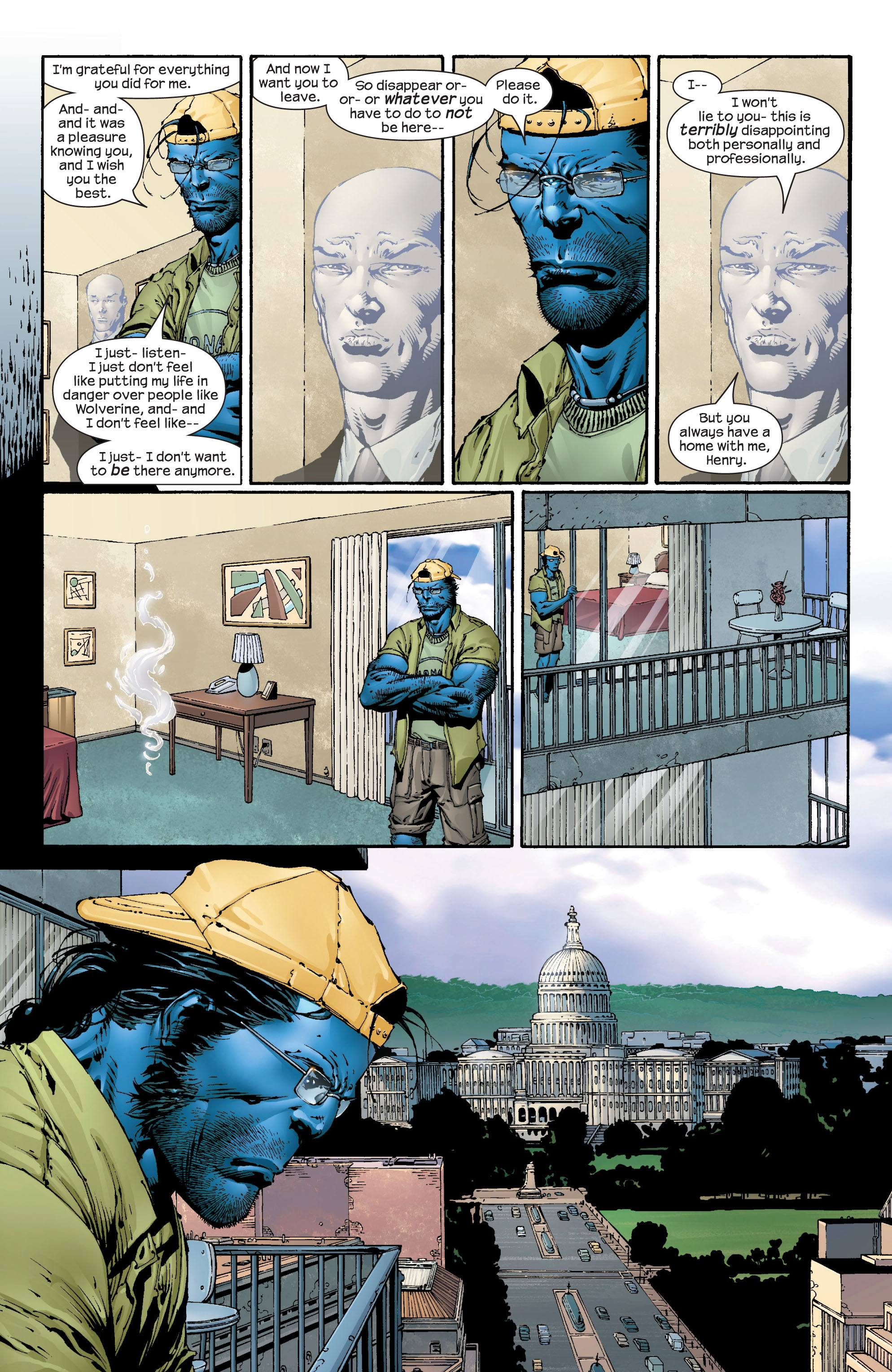 Read online Ultimate X-Men comic -  Issue #43 - 12