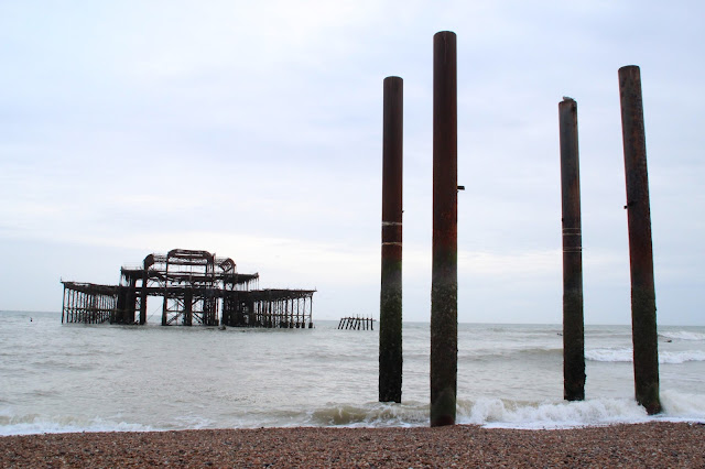 West Pier en Brighton Beach