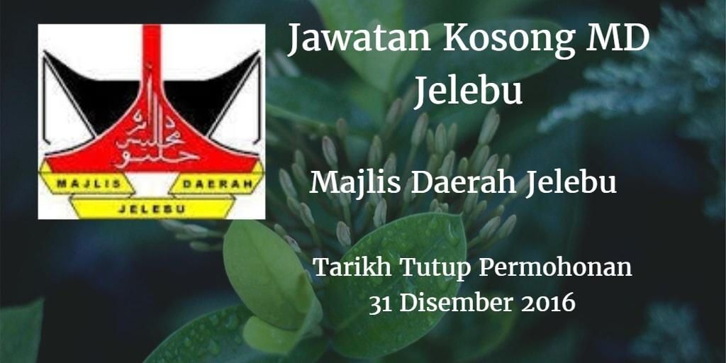 Jawatan Kosong Md Jelebu 31 Disember 2016
