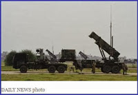 US Patriot Missiles