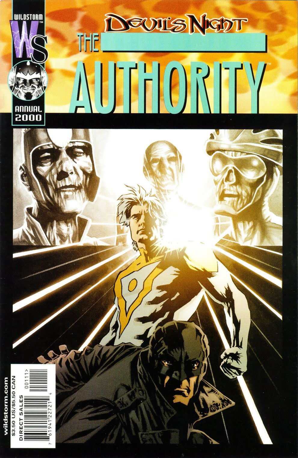 The Authority (1999) _Annual_2000 Page 1
